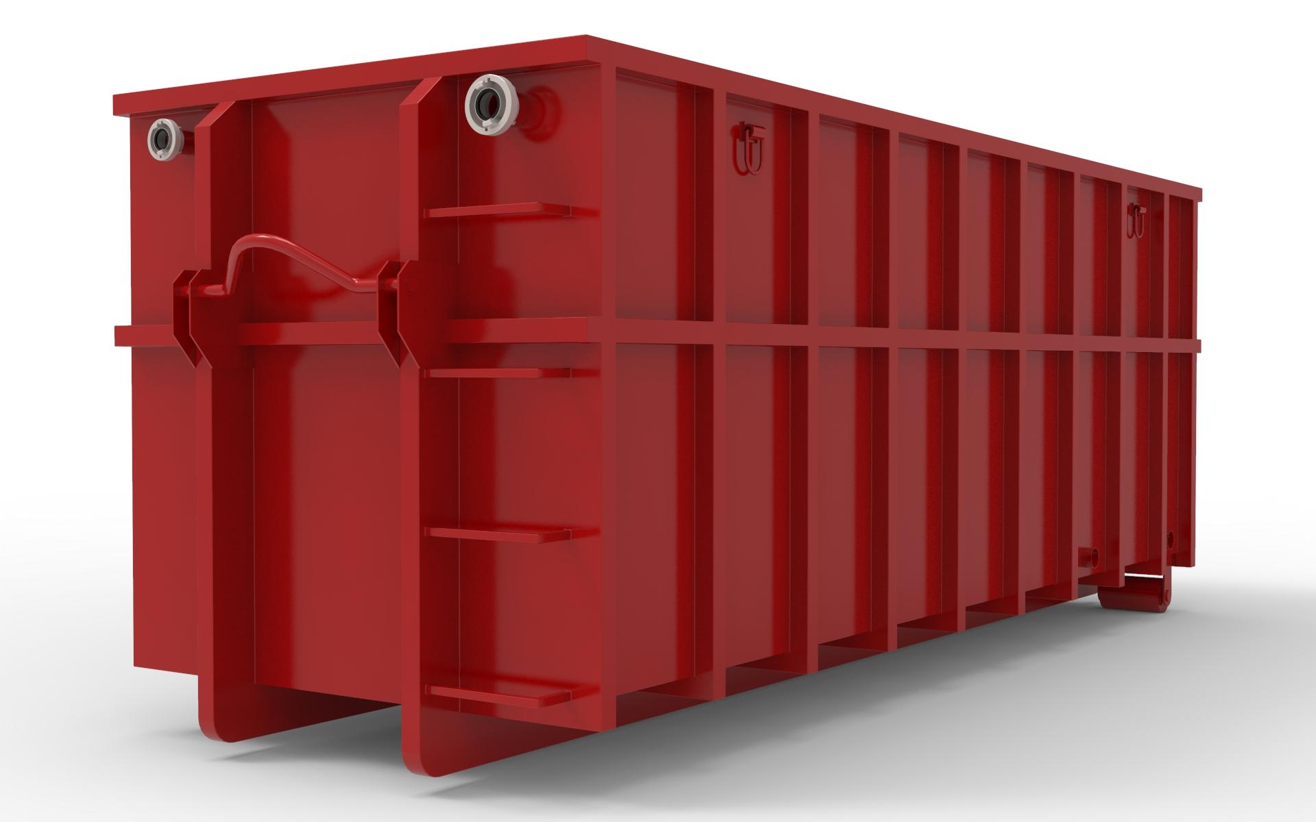 Abrollcontainer nach DIN 30722
