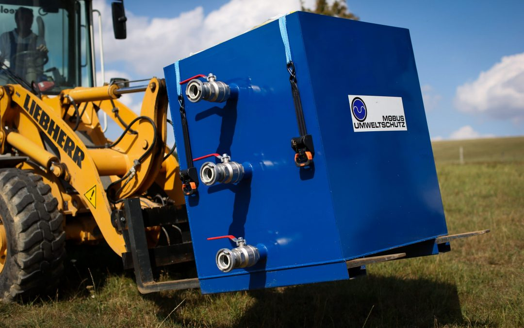 EWC drainage container