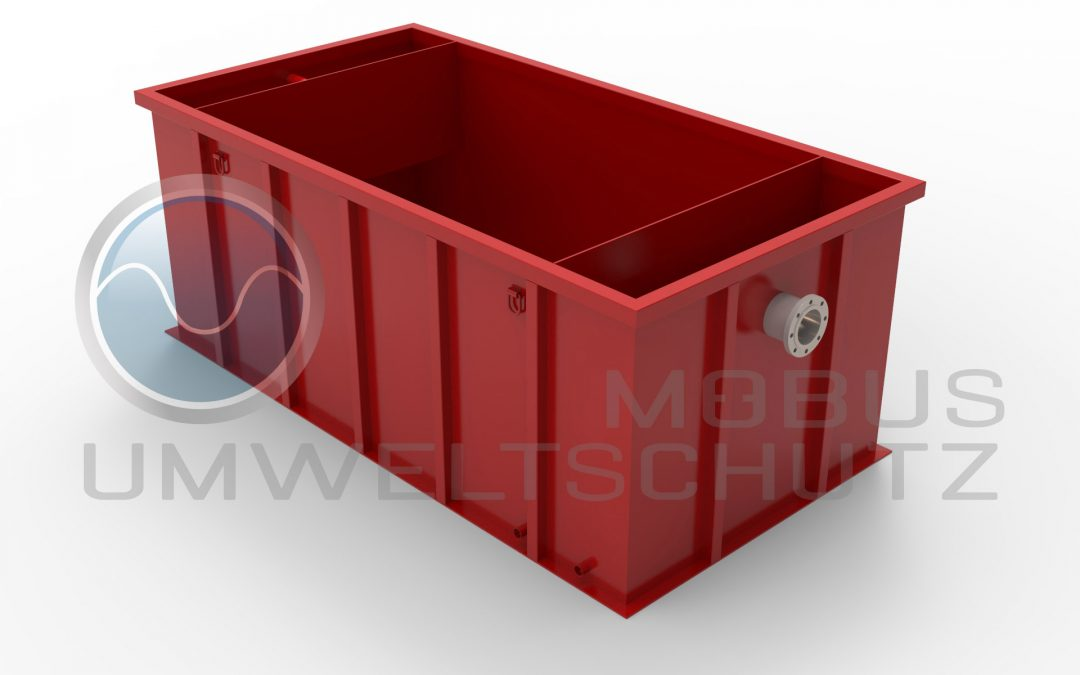 """Settling basin 10cbm with inlet STORZ """"A"""""""