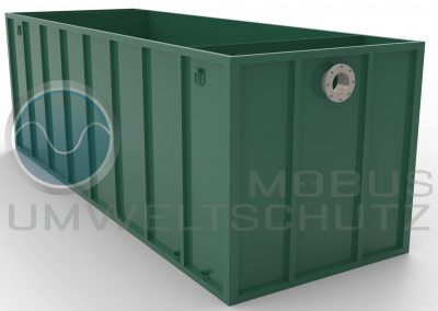 Settlement basin 6500 with flange DN200