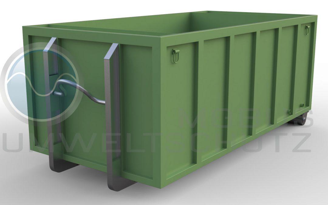 Absetzbecken 10cbm als Abrollcontainer nach DIN 30722