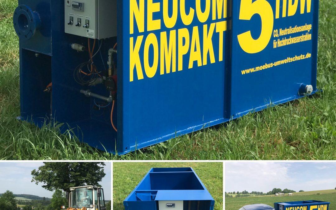 Neucom Kompakt 5HDW – Neutralisationsanlage für Hochdruckwasserstrahlen