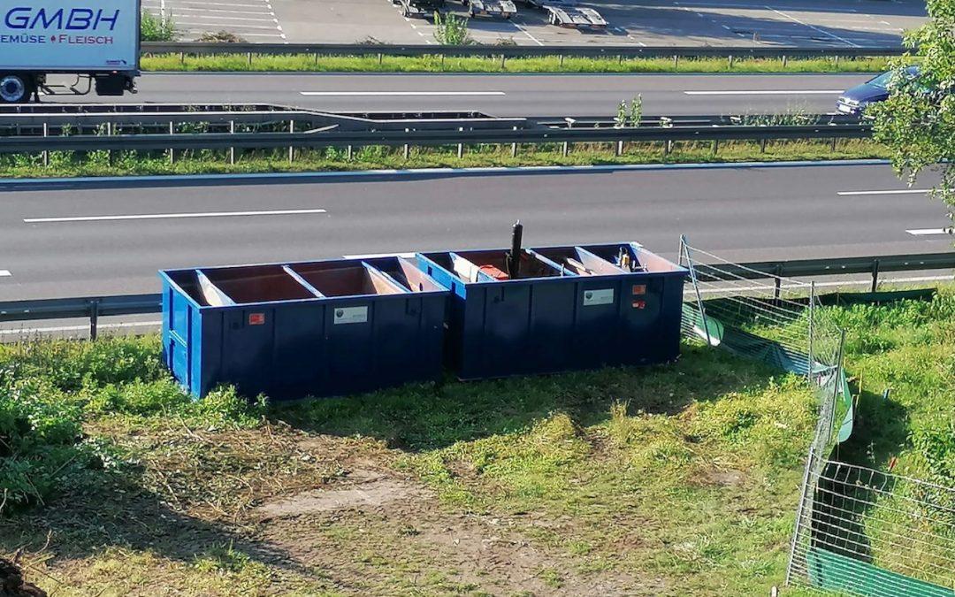 Böblingen – Ausbau A81-Brückenabbruch